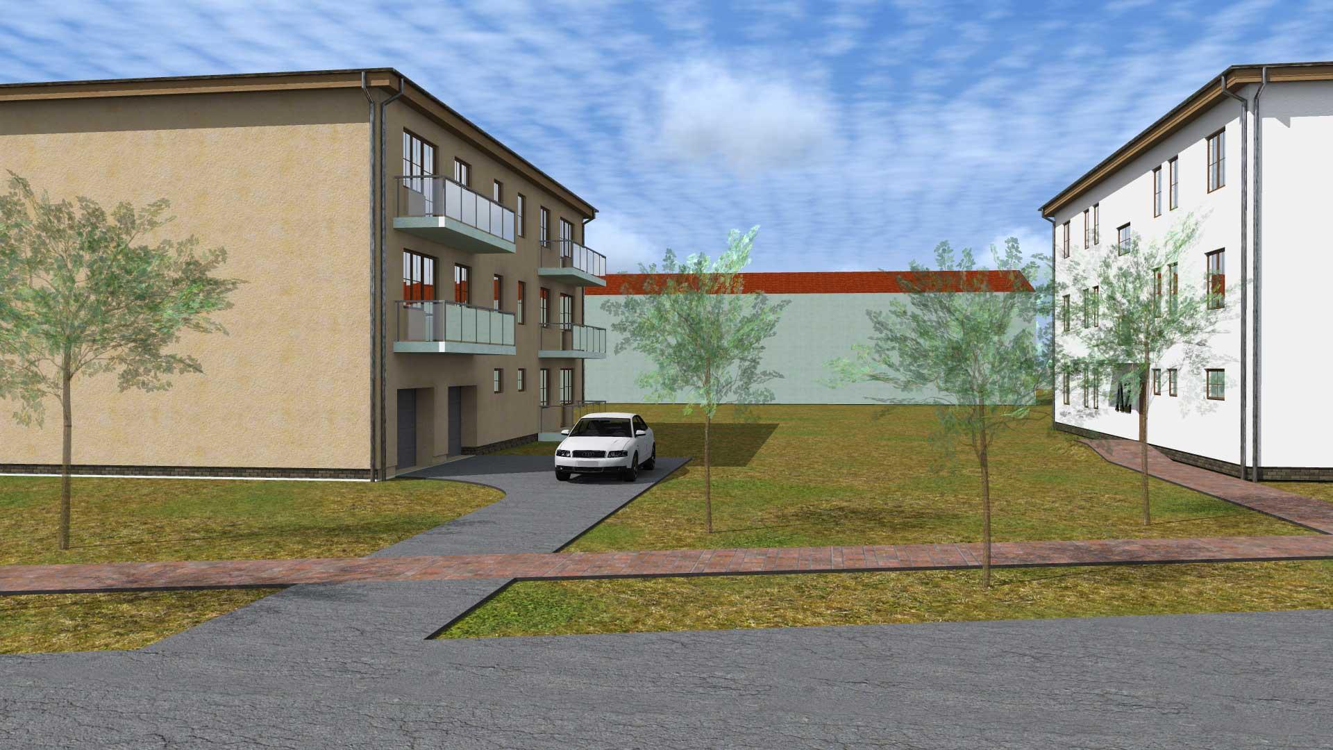 Vizualizace bytových domů 2